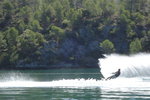 Campeonato de slalom en Bolarque Dsc03810