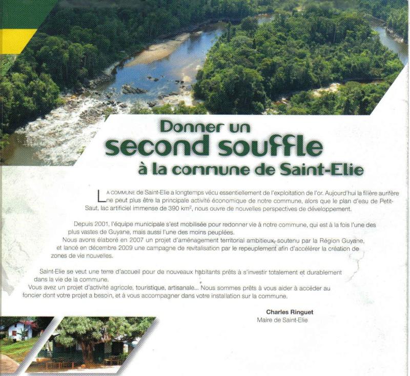 Ntawv caw Hmoob mus nyob lub teb chaws Saint-Elie Guyane Mot_du10