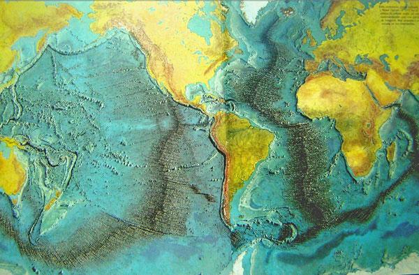 LAS DORSALES OCEÁNICAS 87510