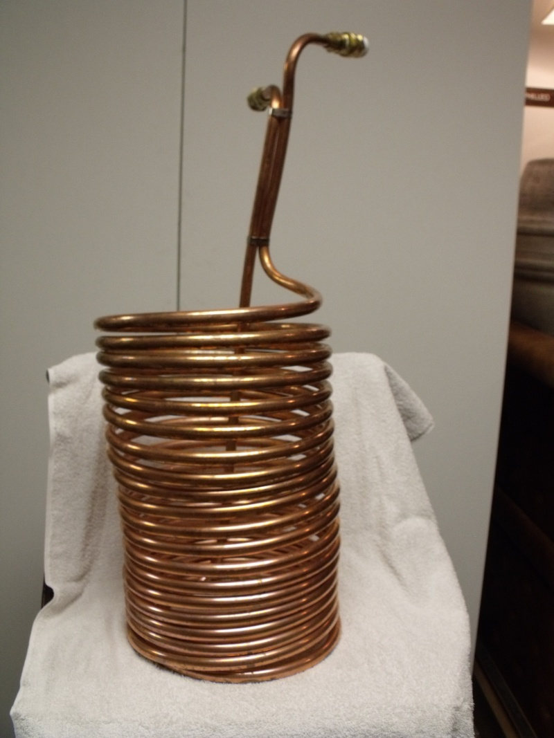 1/2 Inch x 50 Foot Coil Wort Chiller For Sale Dscf4213