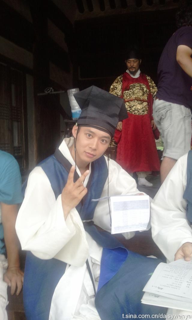 Yoochun filmando SungKyunKwan Scandal 1178