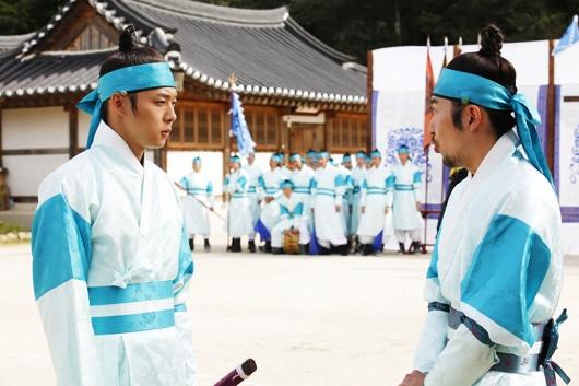Yoochun filmando SungKyunKwan Scandal 2151