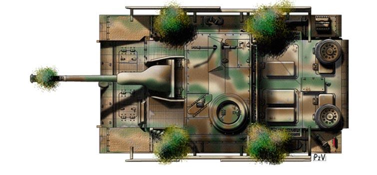 peindre - recherche planches de profils pour peindre mon stug III P210