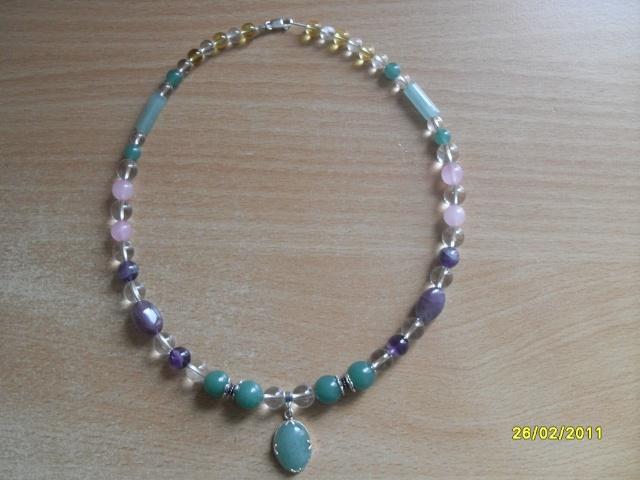 mes créations bijoux lithothérapie Sdc16122
