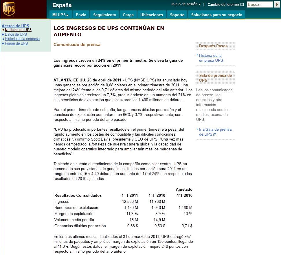 DESPIDOS UPS VALLECAS 10-06-10