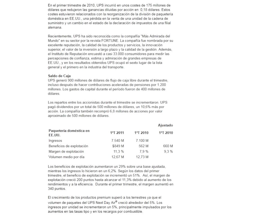 DESPIDOS UPS VALLECAS 10-06-11