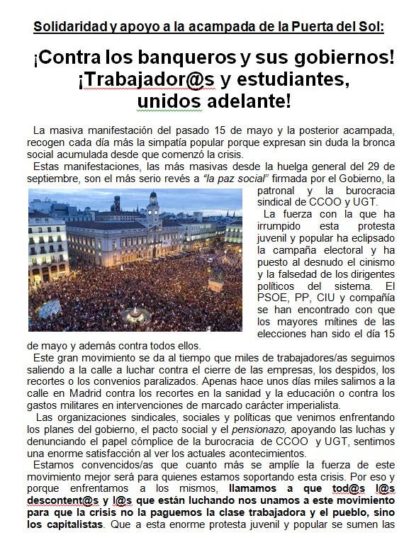 DESPIDOS UPS VALLECAS 21-05-10
