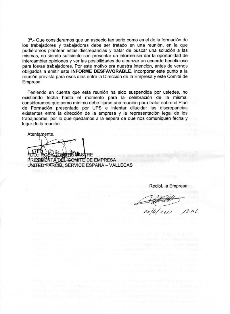 DESPIDOS UPS VALLECAS 210
