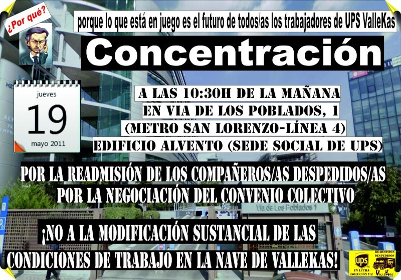 DESPIDOS UPS VALLECAS Cartel14