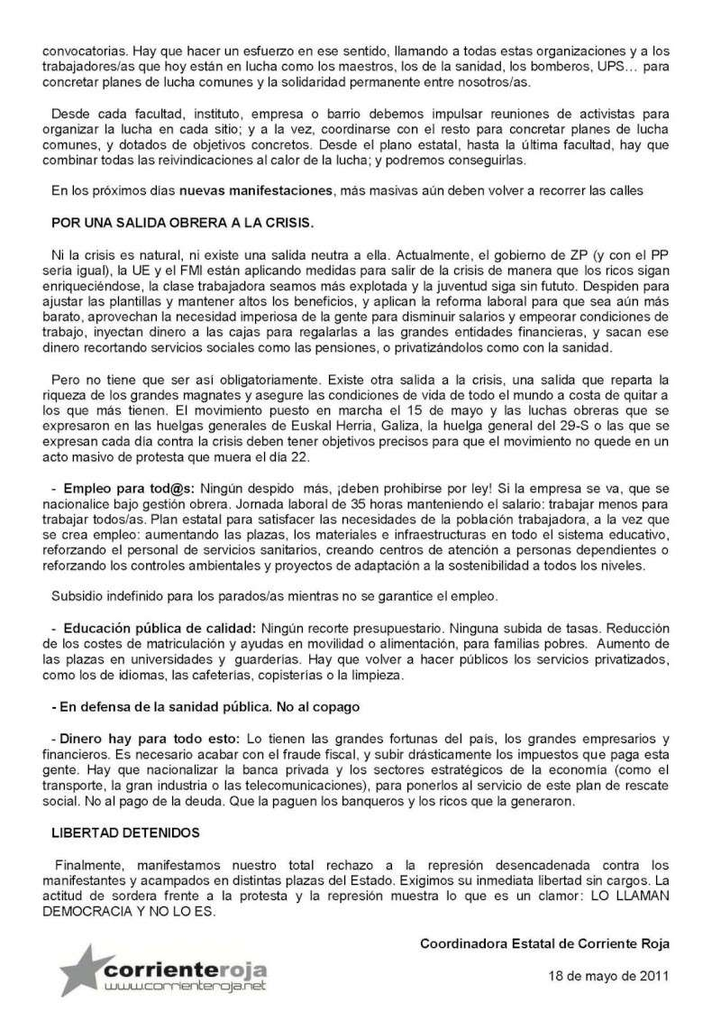 DESPIDOS UPS VALLECAS Comuni11