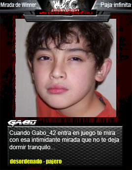WCC TRADING CARDS Gabo10