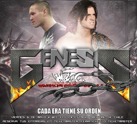 CARTELERA WCC: GENESIS Poster10