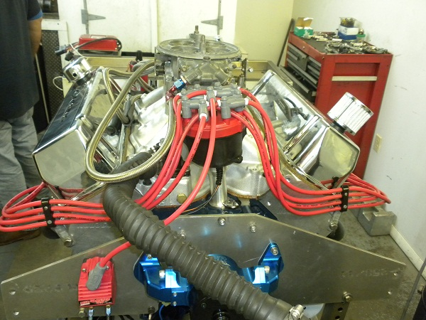 My P51 headed 521. Engine11