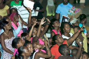 Fun galore at Stars On The Rise concert!  Starco11