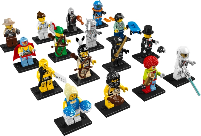 Collectable Minifigures (2010) 8683-110