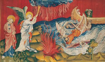 4 tableaux de l'Apocalypse commentés Apocal11