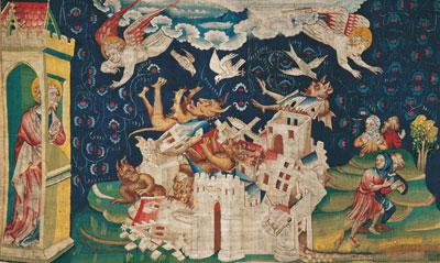 4 tableaux de l'Apocalypse commentés Apocal12