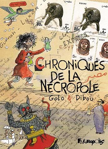 Chroniques de la nécropole [Dibou & Golo] Chroni10