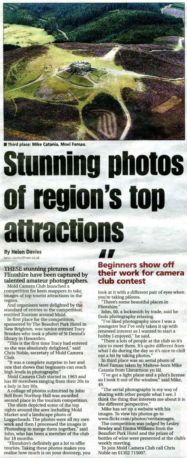 Flintshire Evening Leader - Tourism Around Mold Competition Leader10