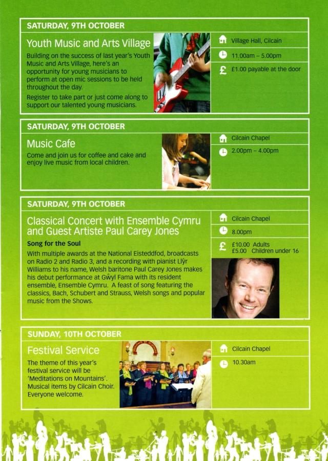 Gwyl Fama 2010 - Programme of Events Progra14