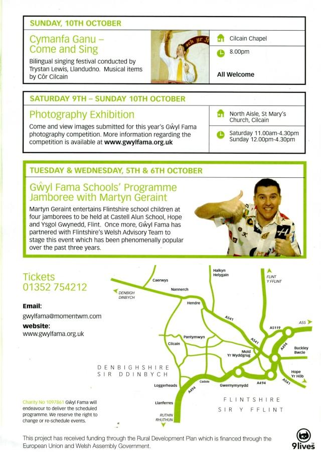 Gwyl Fama 2010 - Programme of Events Progra15