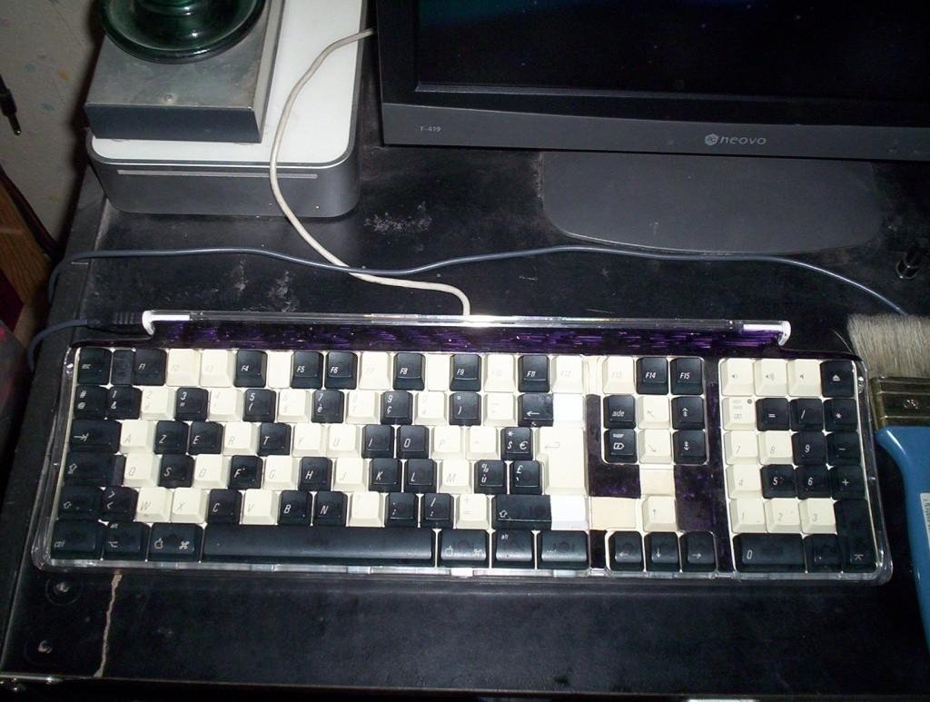 vous avez un Mac , et votre clavier , il ressemble à quoi ? 100_6511
