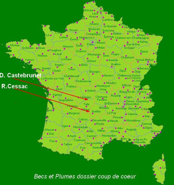 la Faverolle naine coucou  Map10