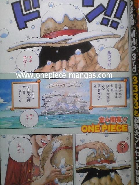 One Piece Manga 598 Spoiler Pics One110
