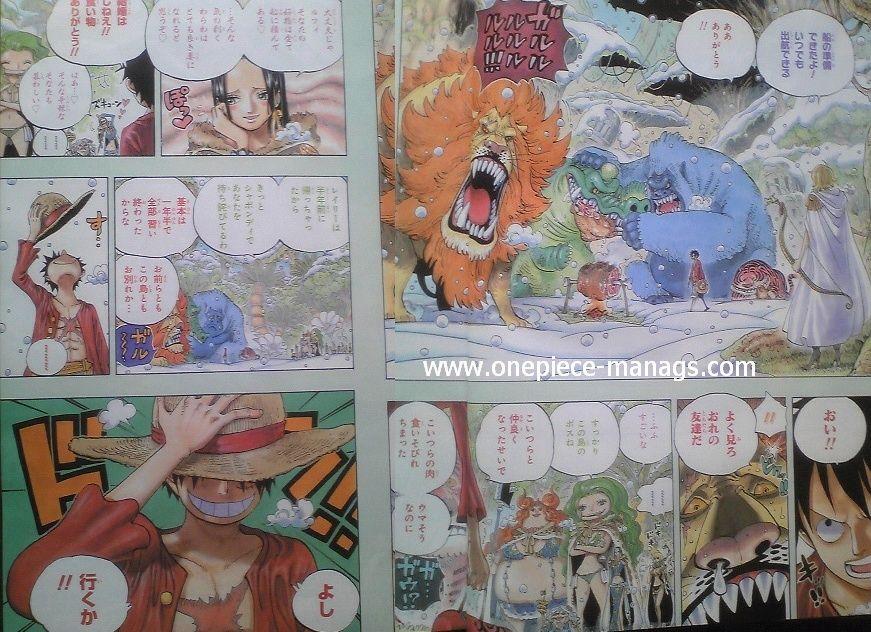 One Piece Manga 598 Spoiler Pics One210
