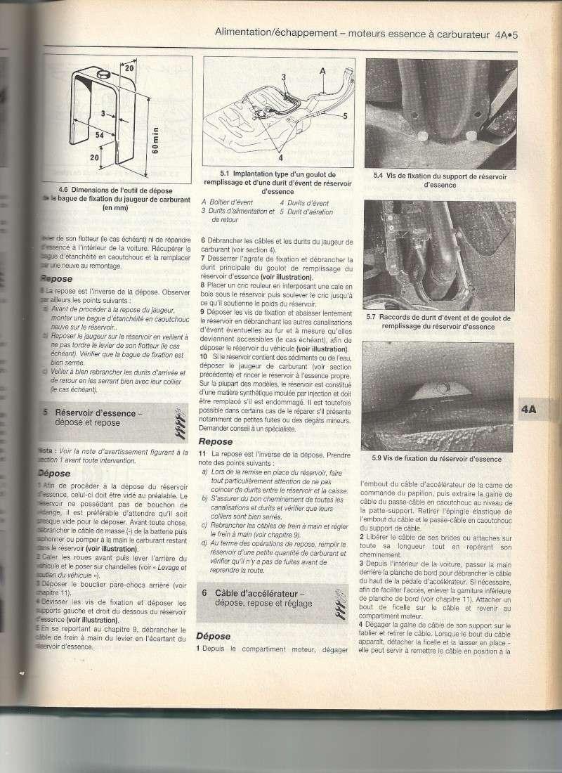 Reservoir a carburant turboD / GTX Numari20