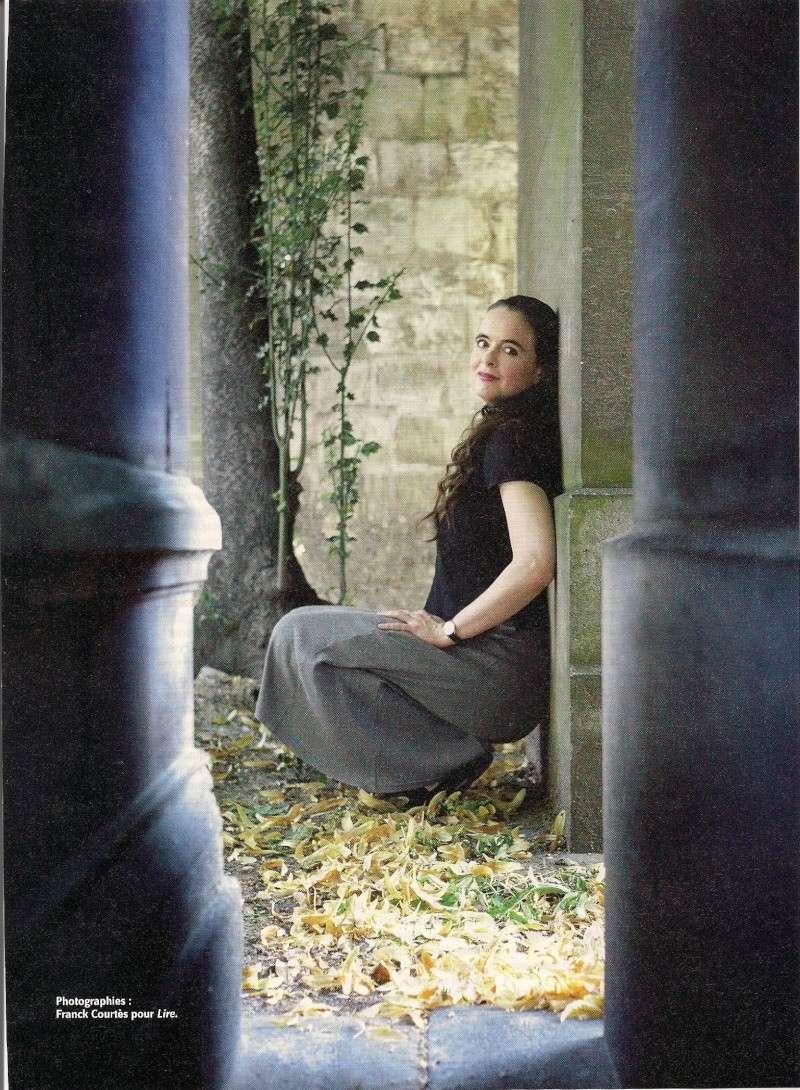 Amélie Nothomb fend(enfin) l'armure, Lire (septembre 2010) Lir310