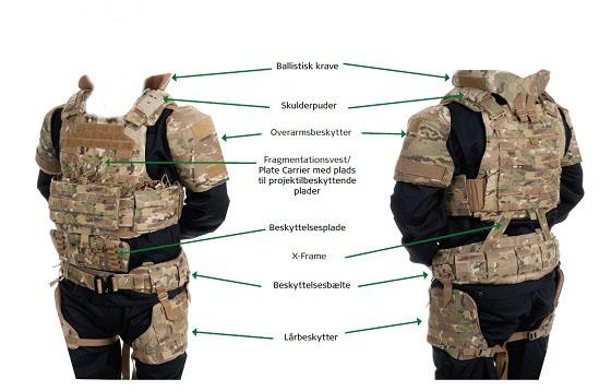 Current Danish Body Armour Beskyt10