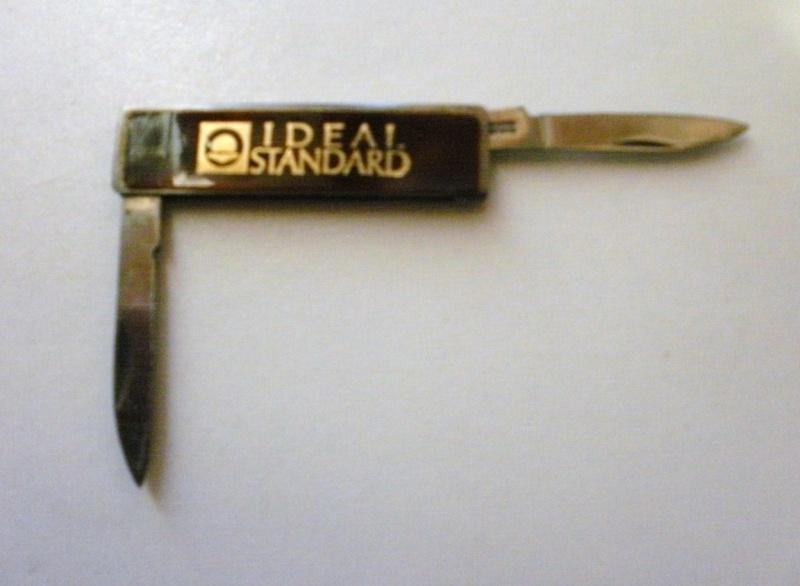 tout petit couteau publicitaite IDEAL STANDARD P8010122
