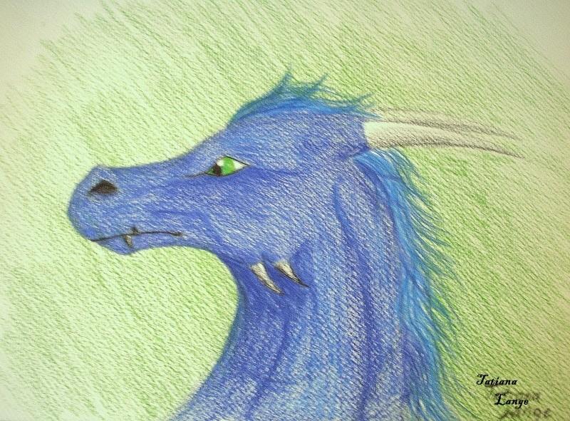 Dragon Face Blue Dscn0710