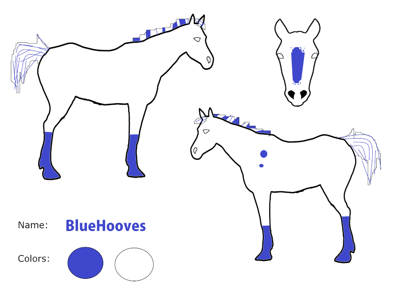 ZD BlueHooves Linear13