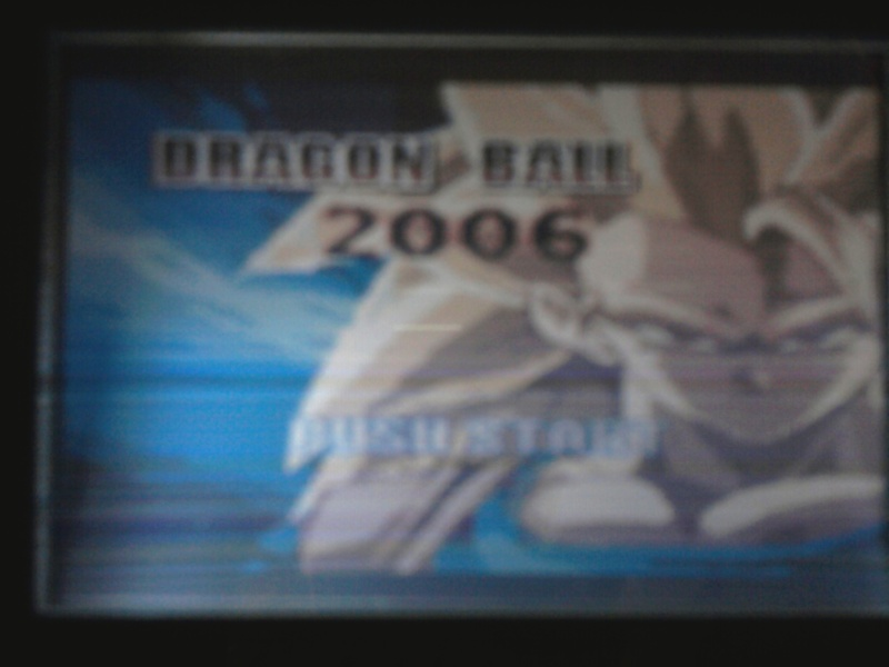 Détail sur une cartouche game boy Dragon ball  Photo213