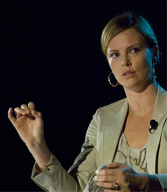 CHARLIZE THERON - First African Oscar winning actress! Charli14