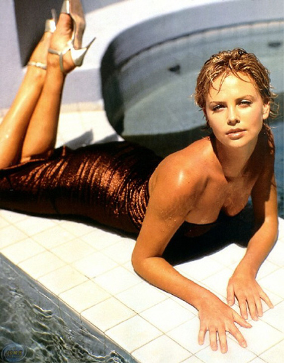 CHARLIZE THERON - First African Oscar winning actress! Charli16