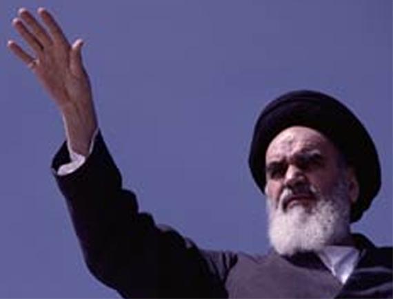 Grand Ayatollah Khomeini (1900-1989) - political & spiritual leader of Iran Khomei16