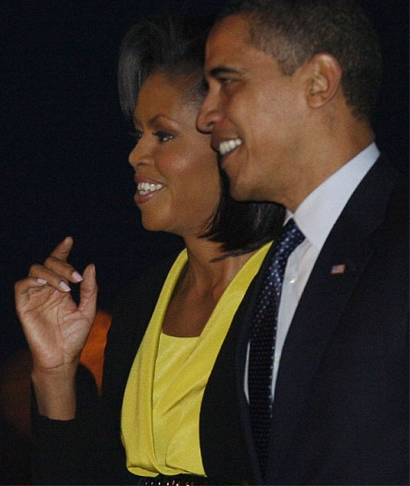 Michelle Obama - the first African-American 'First Lady' in the US Michel11