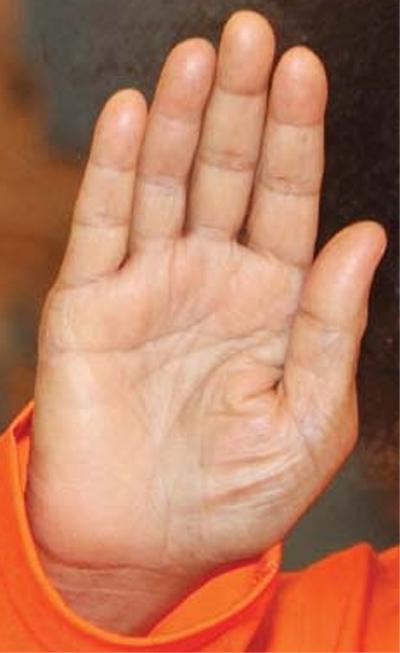 Sri Sathya Sai Baba (1926-2011) - Hands of a Guru Sathya10