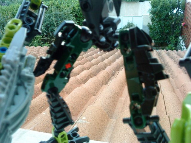 [Moc] Défis: construit le skrall de Bionicle mini echoe. Dsc01923
