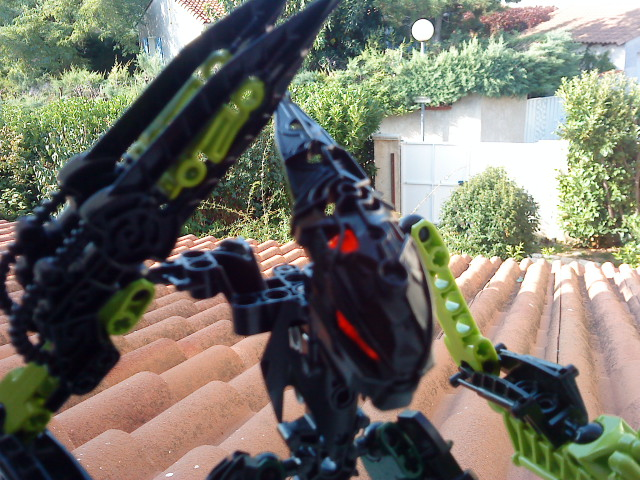 [Moc] Défis: construit le skrall de Bionicle mini echoe. Dsc01926
