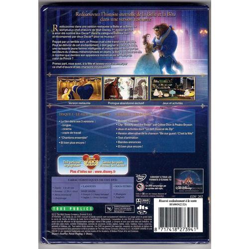 [DVD & BrD] La Belle et la Bête - Edition Diamant (6 octobre 2010) - Page 38 86787713