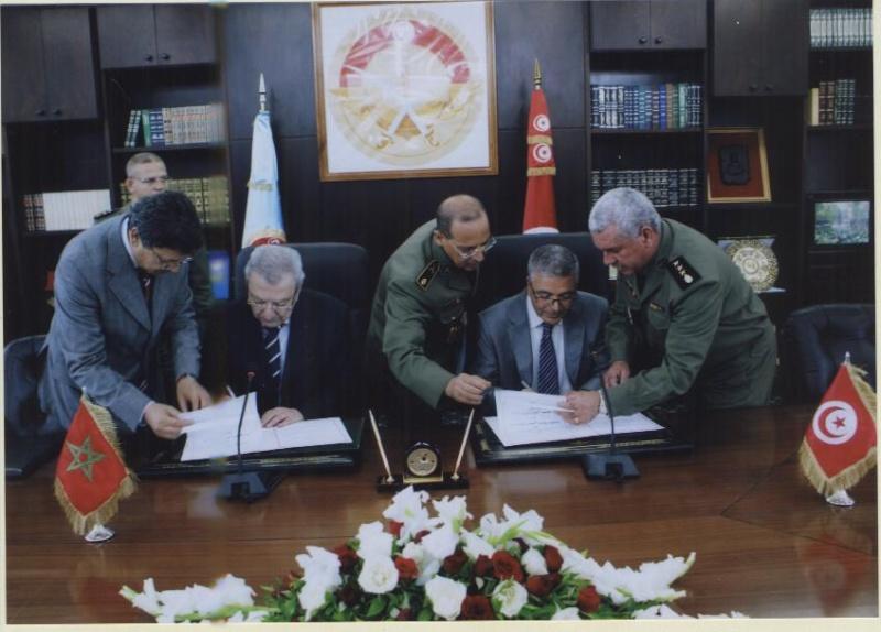 Coopération militaire Maroc-Tunisie Mdn_r210
