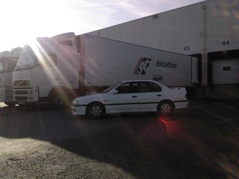 Mathieu en Nissan Primera 4910