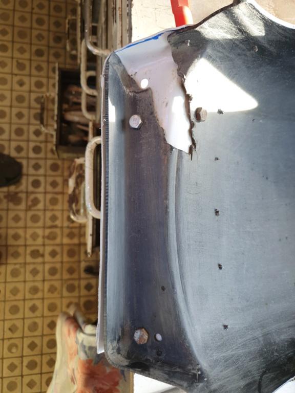 Réparation Garde Boue Arrière F16 20200414