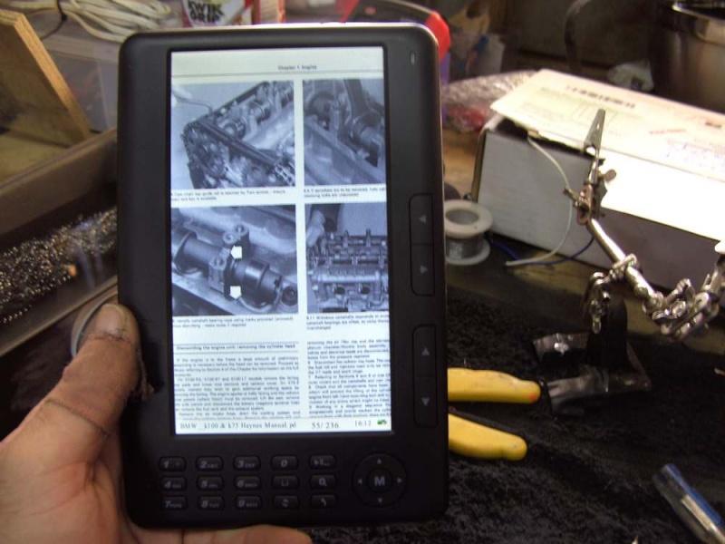 EBook Reader Biketo17