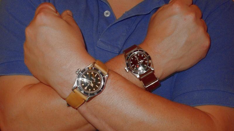 Votre montre sur le poignet d'un autre ... Double10