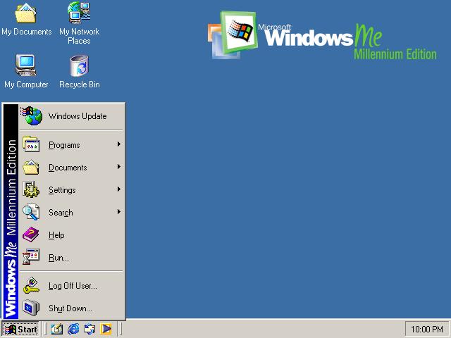 WINDOWS ME الاصدار الرابع  للوندوز 2213